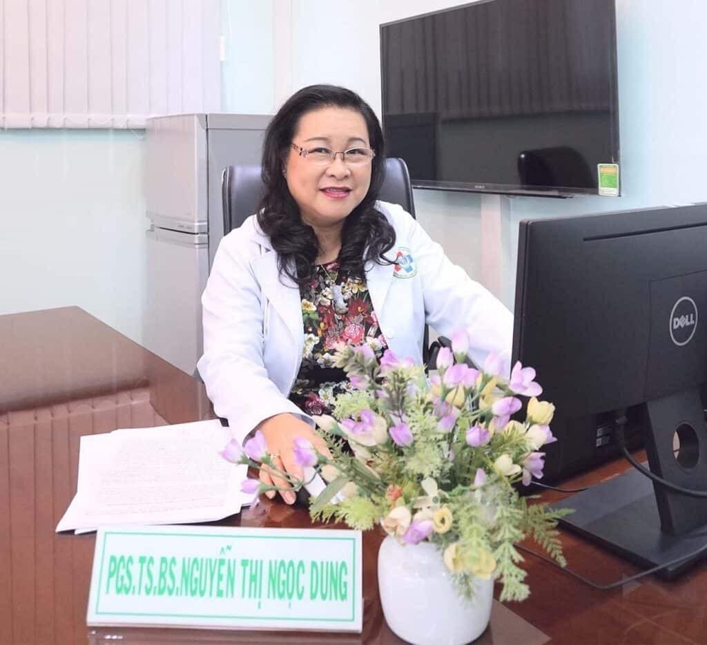 Phó Giáo sư, Tiến sĩ, Bác sĩ Nguyễn Thị Ngọc Dung