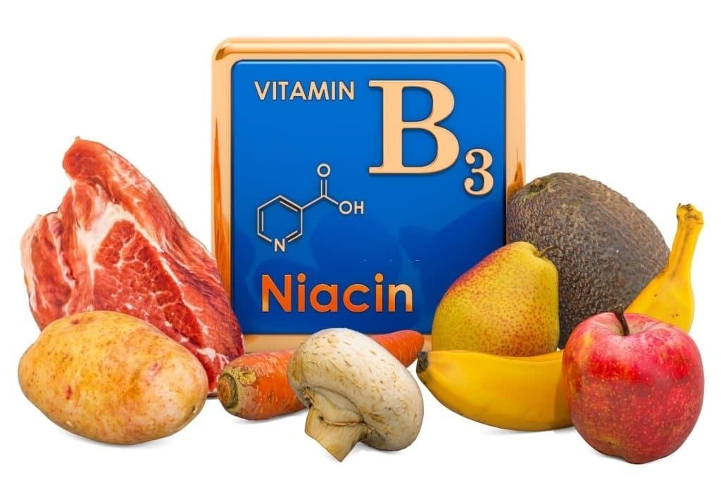Niacin được tìm thấy trong nhiều loại thực phẩm