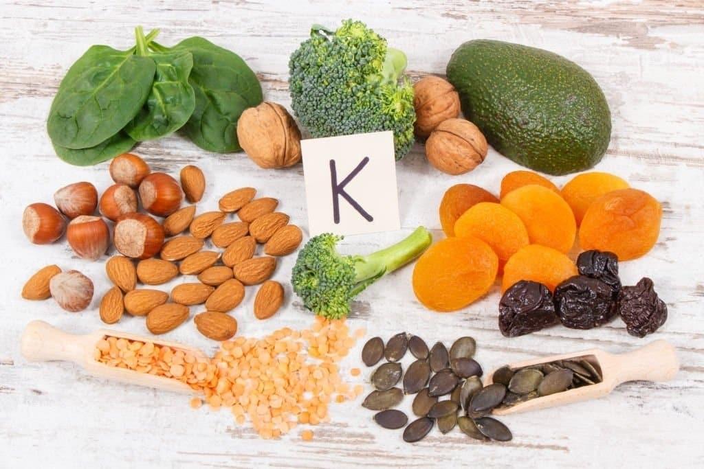 Vitamin K có nhiều trong các loại thực phẩm