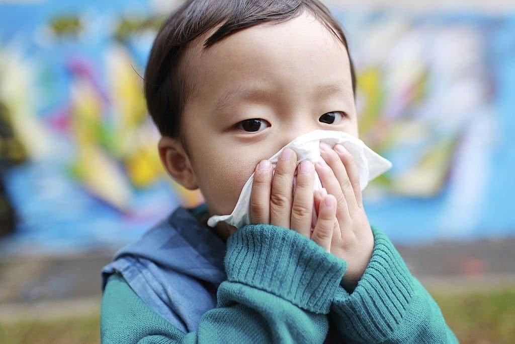 Có nhiều lý do khiến trẻ bị ho nghẹt mũi
