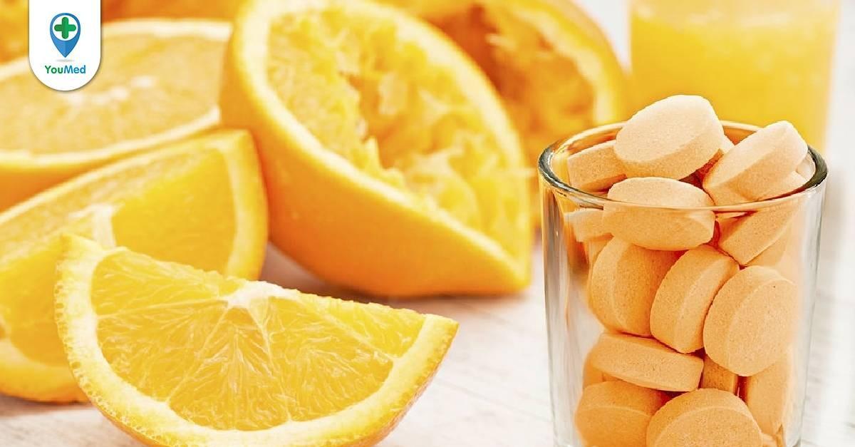 Bạn có biết vitamin C có tác dụng gì chưa?