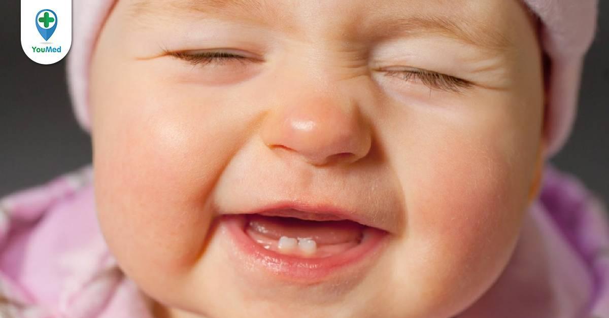Thuốc và cách giảm đau khi mọc răng ở trẻ