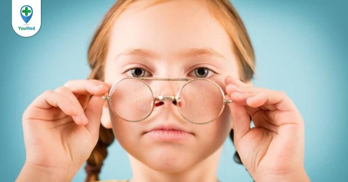 Cận thị ở trẻ em nhận biết sớm và điều trị