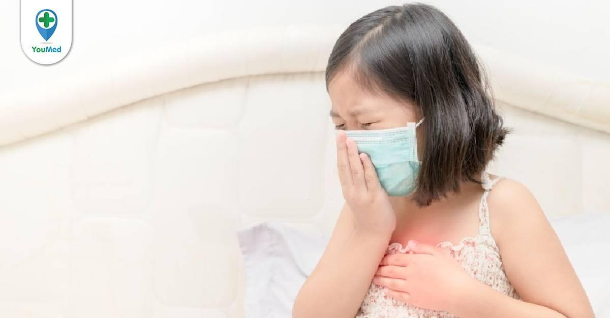 Nguyên nhân trẻ bị ho lâu ngày và cách khắc phục tại nhà