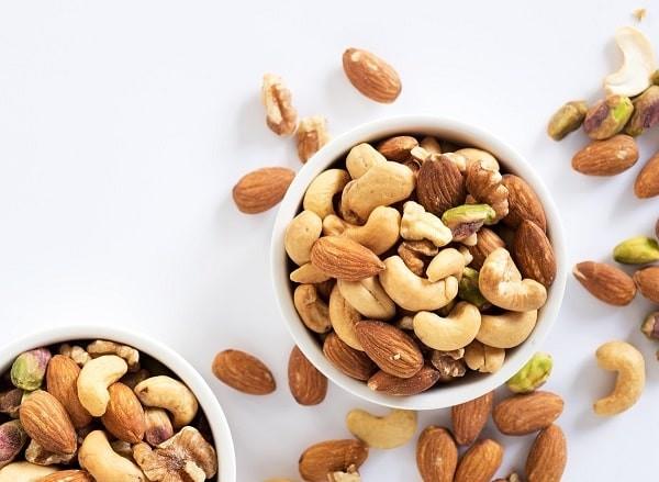 Các loại hạt bổ sung protein thực vật và khoáng chất tốt cho bệnh nhân ung thư giáp