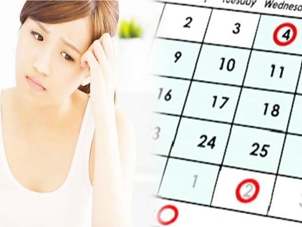 Chu kỳ kinh nguyệt dài trung bình 28-30 ngày