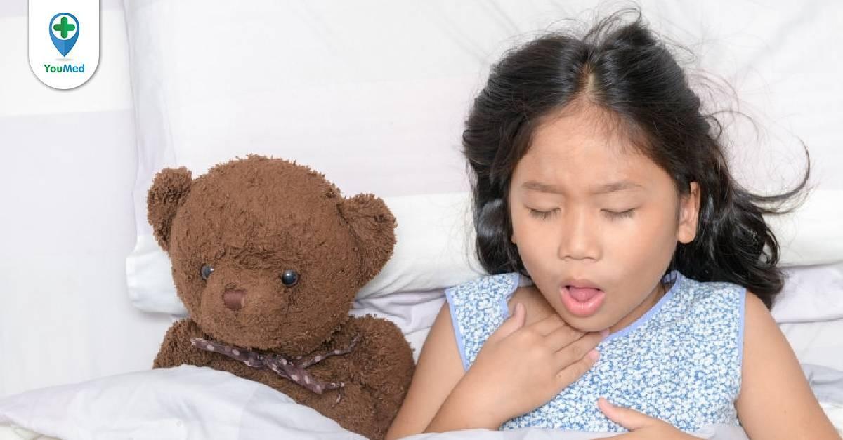 Nguyên nhân trẻ bị ho về đêm và cách điều trị