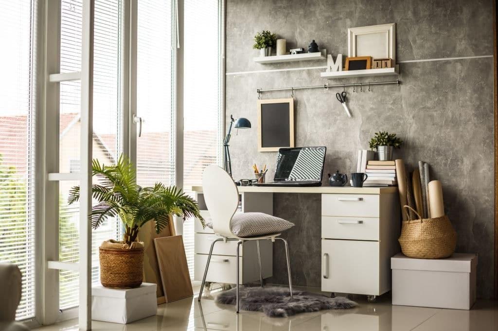 Hãy tạo ra một không gian làm việc yên tĩnh, thoải mái và nhẹ nhàng