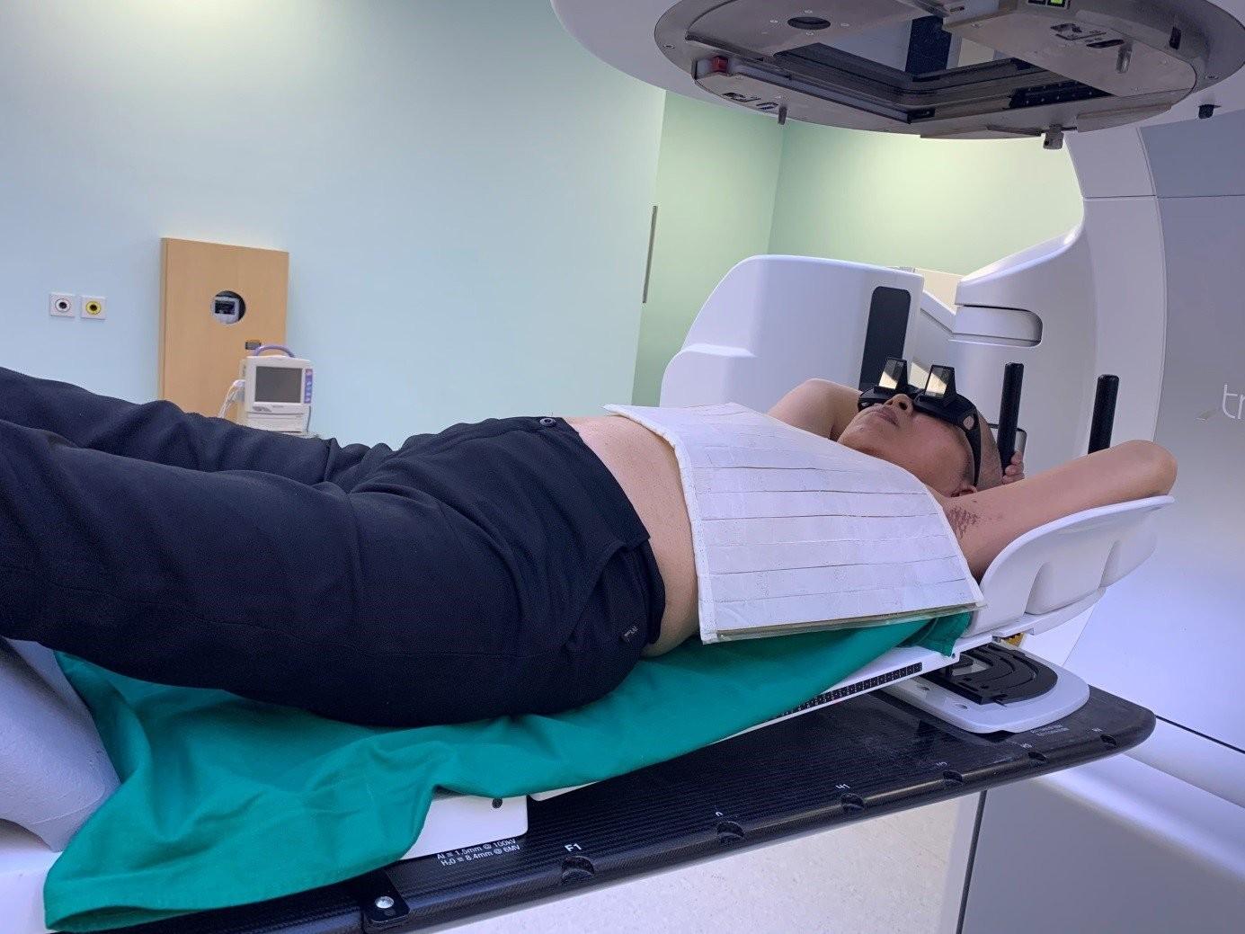 Phương pháp xạ trị điều trị ung thư vú tái phát
