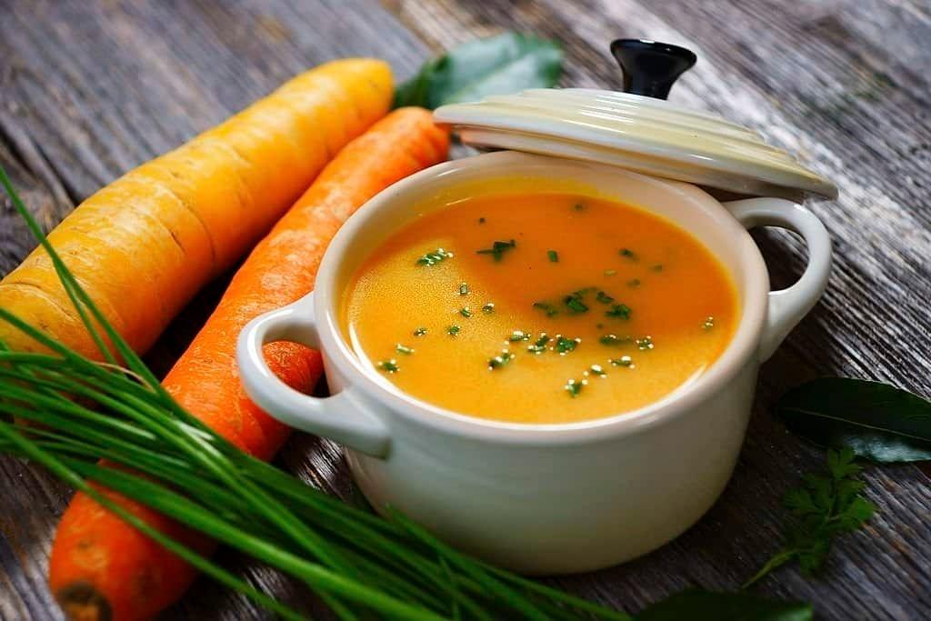 Món súp cà rốt tăng cường miễn dịch cho trẻ