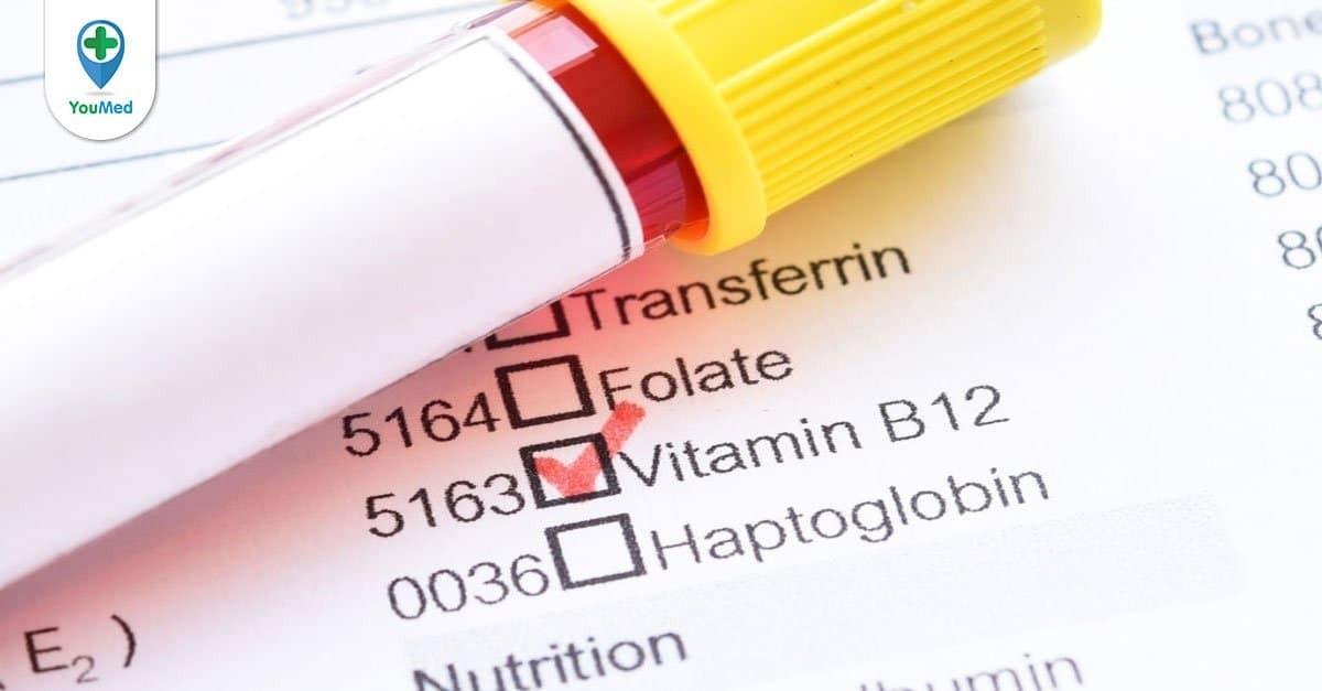 Thiếu vitamin B12 gây bệnh gì?