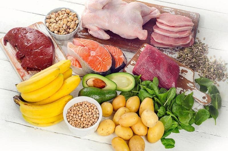 Bạn phải bổ sung vitamin B6 từ thực phẩm hoặc chất bổ sung