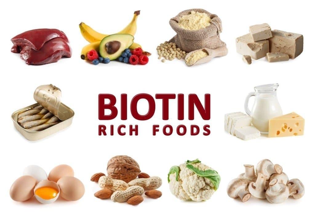 Các thực phẩm giàu biotin