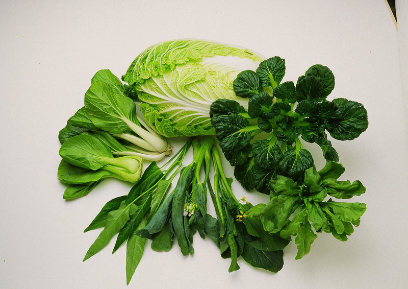 Các loại rau xanh rất tốt cho sức khỏe và nhiều loại có chứa magiê.