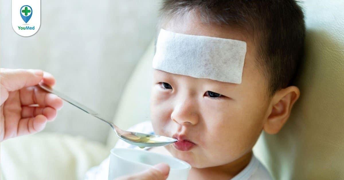 Trẻ bị ho nên ăn gì, kiêng gì?