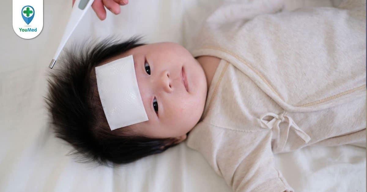 Trẻ sơ sinh bị ho thì phải làm sao?