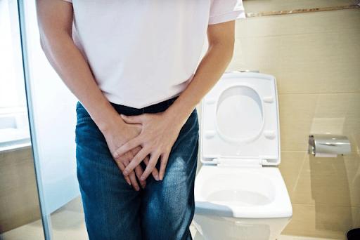 Khó khăn trong quá trình tiểu là một dấu hiệu của phì đại tuyến tiền liệt