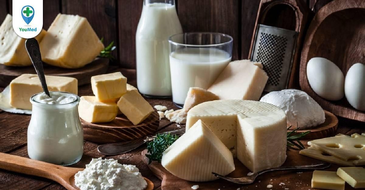 Vitamin B2 có trong thực phẩm nào