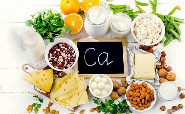 Thực phẩm chứa nhiều canxi cần bổ sung