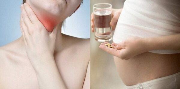 thuốc điều trị suy giáp hoàn toàn không để lại ảnh hưởng gì cho quá trình mang thai