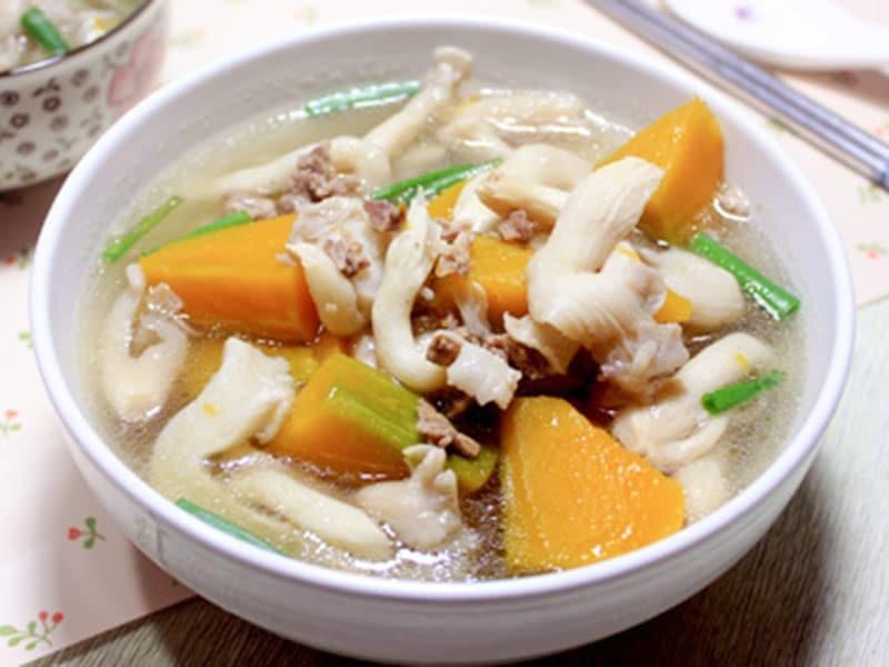 Món ăn bổ dưỡng chế biến từ nấm bào ngư