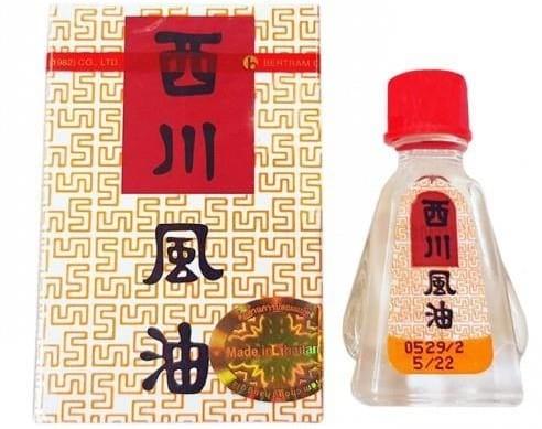 Dầu gió See Chuan Oil thái lan (Siang Pure nước trắng NK)