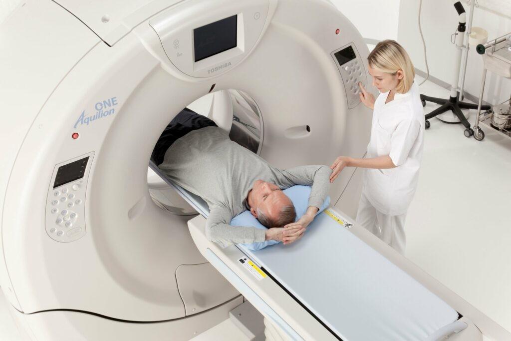 CT Scan được sử dụng trong chẩn đoán viêm tuyến tiền liệt