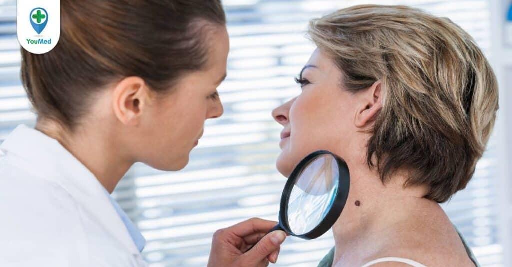 Chẩn đoán bệnh Viêm da Demodex