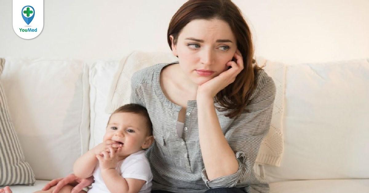 Rối loạn kinh nguyệt sau khi sinh mẹ nên làm gì?