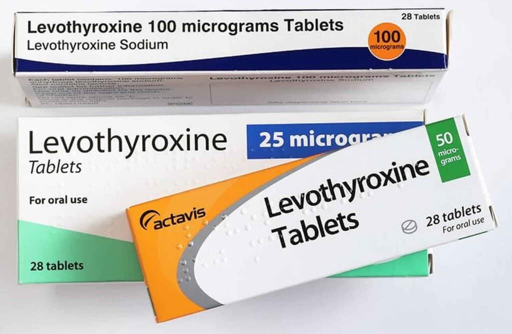 Levothyroxine là thuốc bổ sung hormone T4 trong điều trị suy giáp
