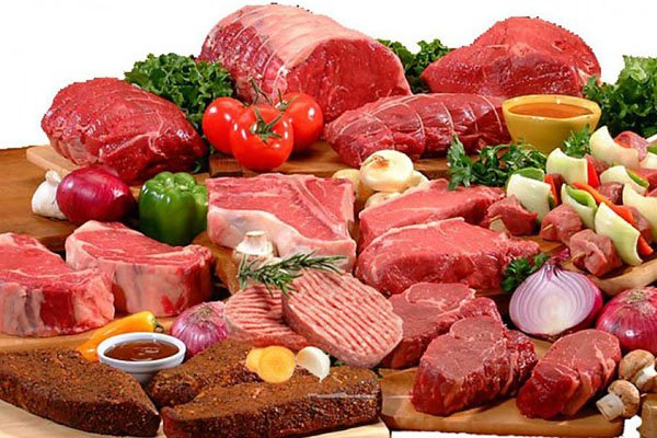 Thịt đỏ chứa hàm lượng cao chất béo bão hòa, nên hạn chế