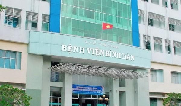 Bệnh viện Bình Dân - nơi đảm bảo chi phí cắt bao quy đầu và uy tín