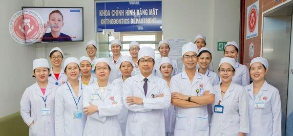 Khoa chỉnh hình Răng Mặt Bệnh viện Răng Hàm Mặt TPHCM