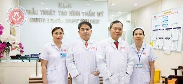 Khoa Phẫu Thuật Tạo Hình Thẩm Mỹ bệnh viện Răng Hàm Mặt TPHCM