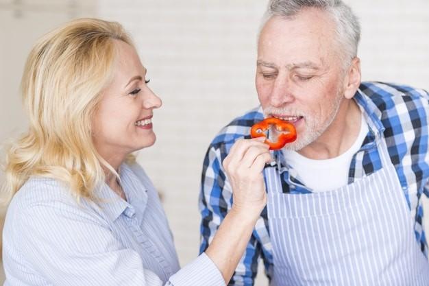 Ớt chuông tốt cho sức khỏe người cao tuổi