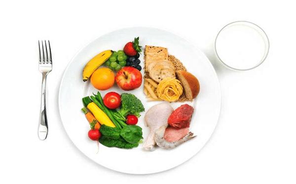 Phương pháp chia đĩa thức ăn mẹ bầu bị tiểu đường thai kỳ có thể áp dụng