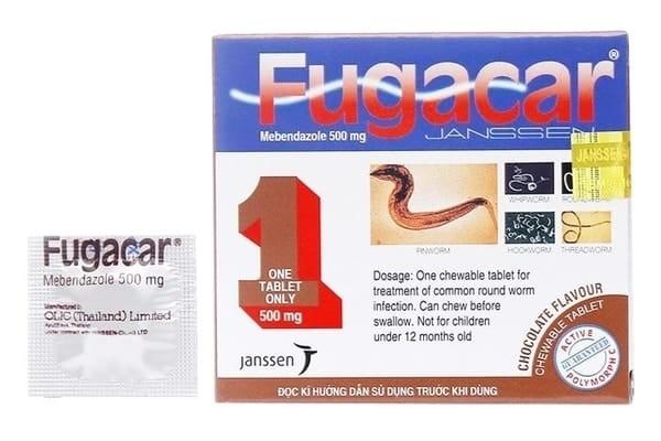 Thuốc tẩy giun fugacar có tác dụng tốt