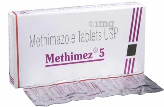 Methimazole là thuốc kháng giáp trong điều trị cường giáp