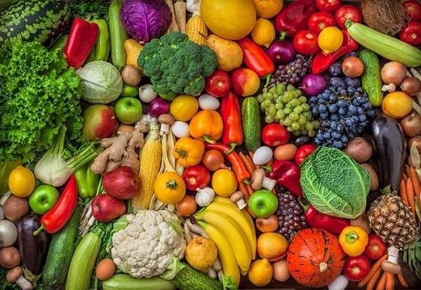 Trái cây và rau củ tốt cho người bệnh ung thư đại tràng