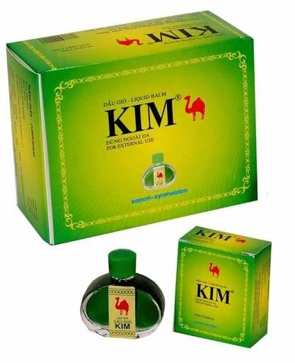 dầu gió Kim