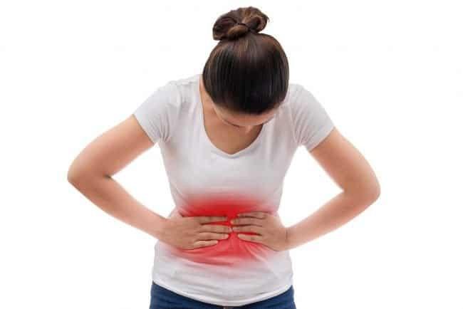 Đau bụng là tình trạng có thể gặp phải sau khi dùng thuốc progesterone