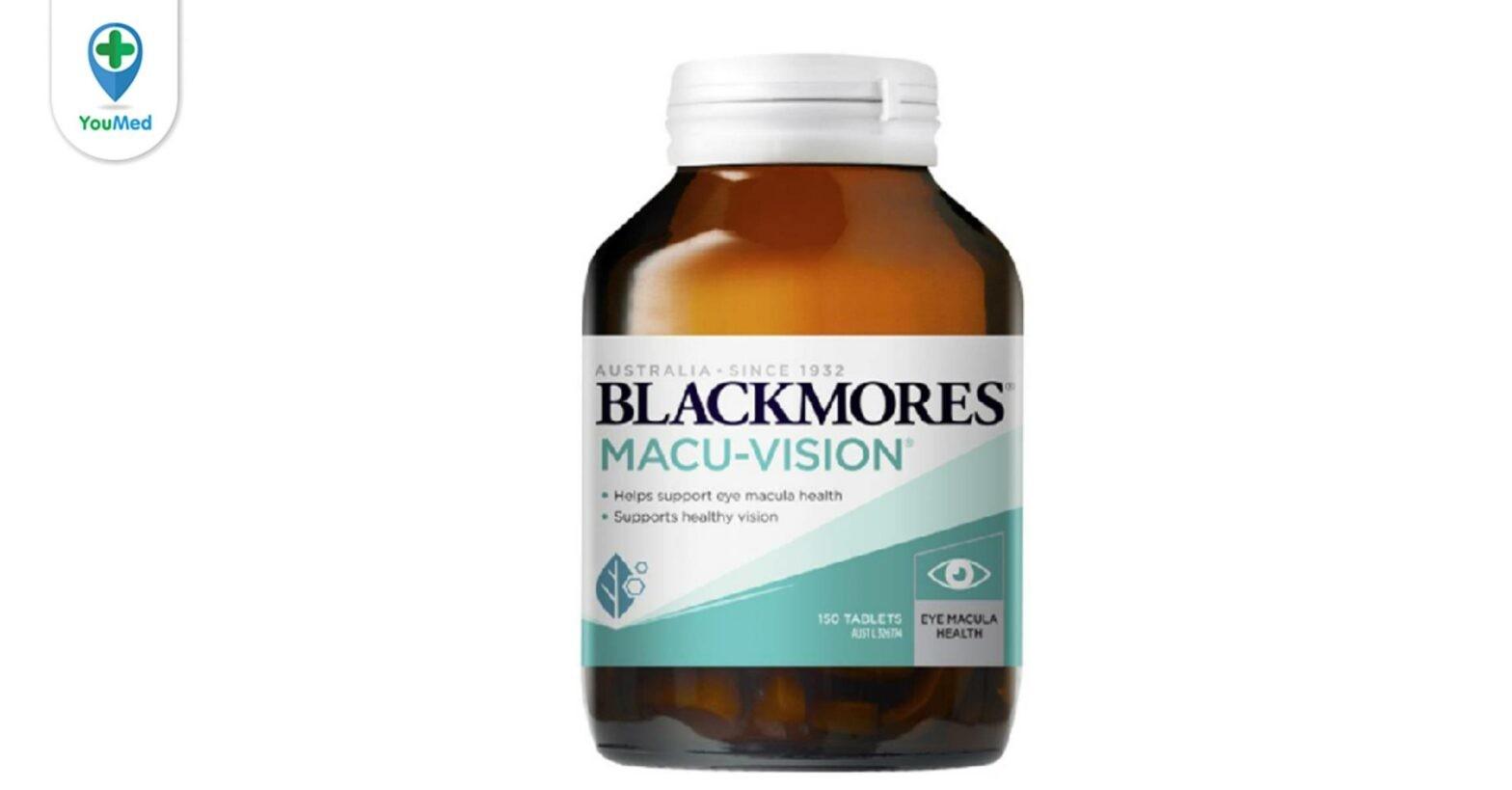 Thuốc bổ mắt Blackmores Macu Vision có tốt không? và những lưu ý