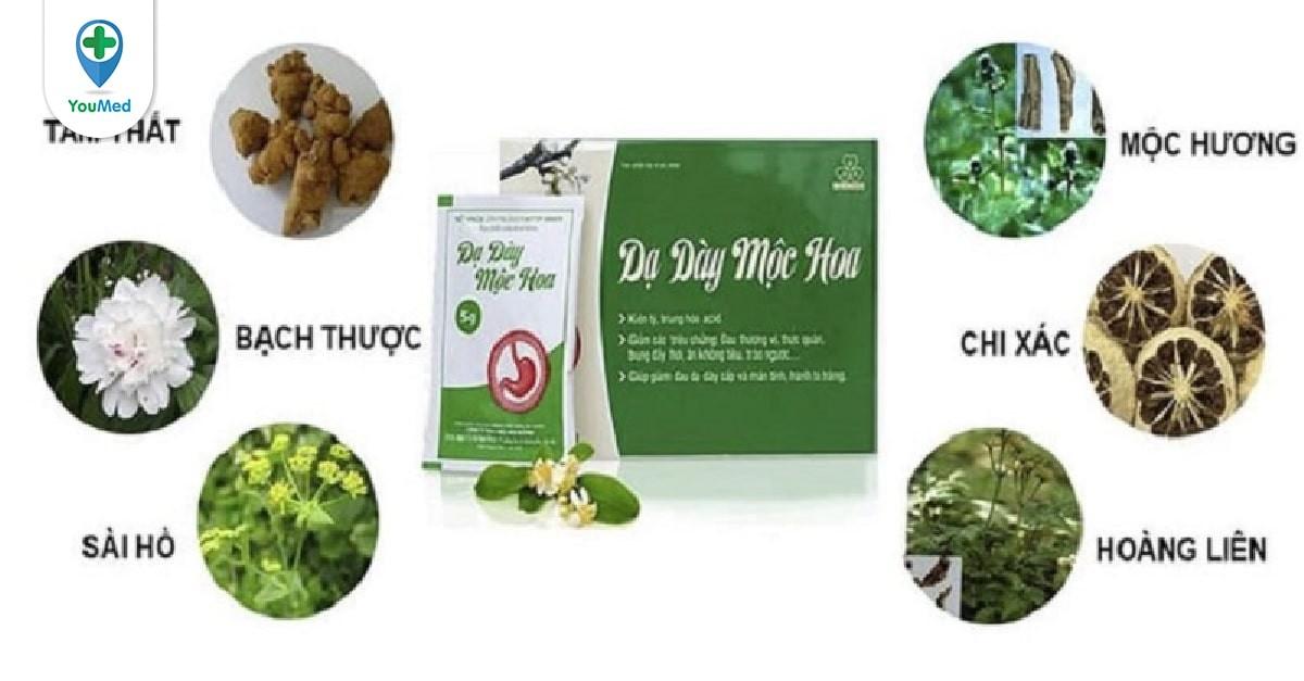 Thuốc dạ dày Mộc Hoa: giá, liều dùng và cách dùng hiệu quả