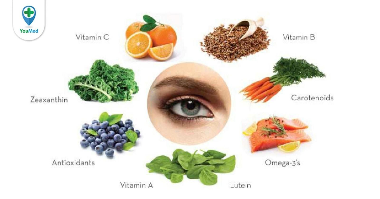 Những thực phẩm tốt cho mắt mà bạn nên biết