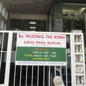Phòng khám bác sĩ Trương Thị Xinh