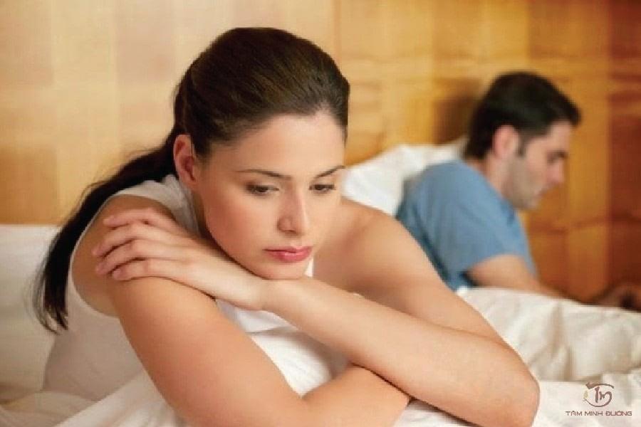 Phụ nữ chưa được thỏa mãn trong đời sống tình dục có thể dẫn đến mộng tinh