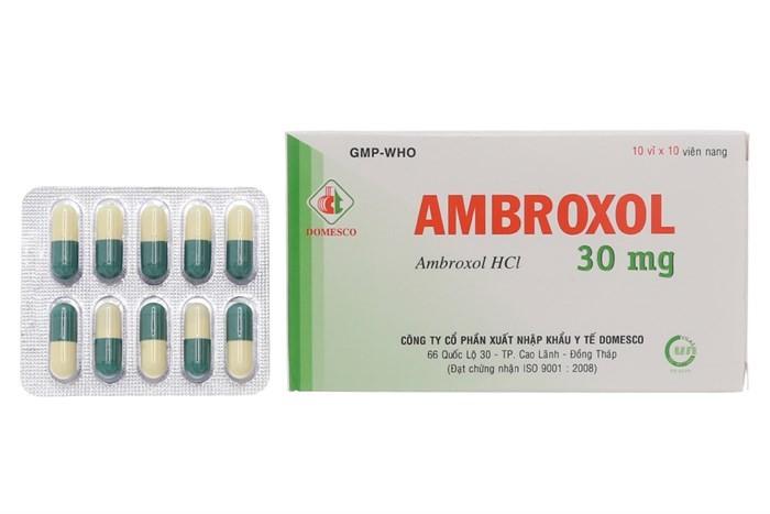 Thông tin về thuốc tiêu đờm Ambroxol