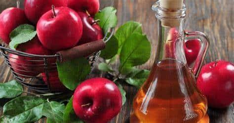 Dùng giấm táo để trị đổ mồ hôi đầu ở trẻ em
