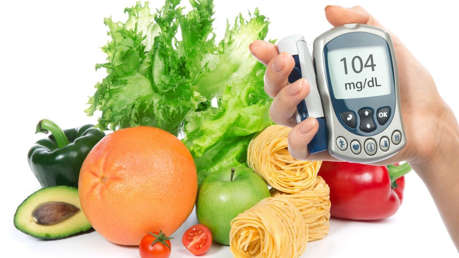 Chế độ dinh dưỡng cũng tác động không nhỏ đến chỉ số đường huyết