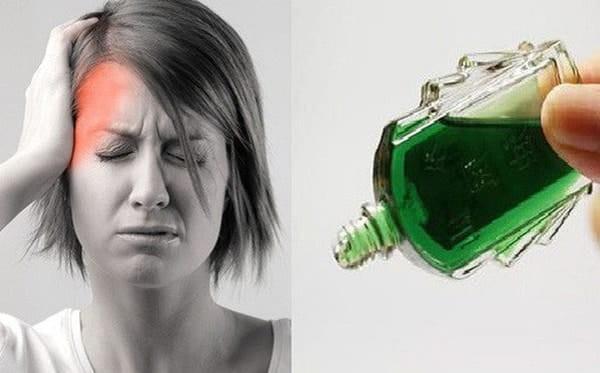 Dầu gió Kim có tác dụng chữa đau đầu